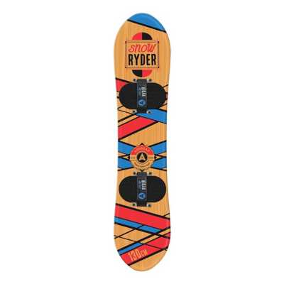 Airhead Snow Ryder Wood Snowboard