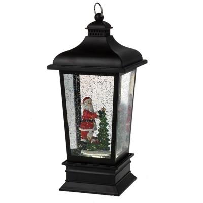 Midwest-CBK Lighted LED Santa Carriage Lantern