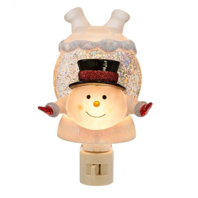 Midwest-CBK Upside Down Snowman Night Light