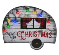 "Midwest-CBK ""Home for Christmas"" Camper Wall Decor"
