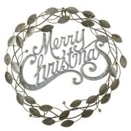 "Midwest-CBK ""Merry Christmas"" Wreath Wall Decor"