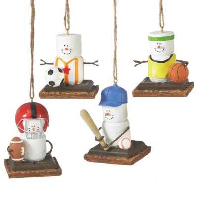 Midwest-CBK Assorted S'mores Team Sport Ornament