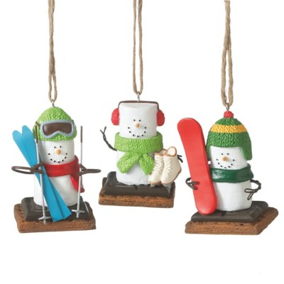 Midwest-CBK Assorted S'mores Winter Sport Ornament