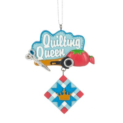 """Midwest-CBK """"Quilting Queen"""" Ornament"""