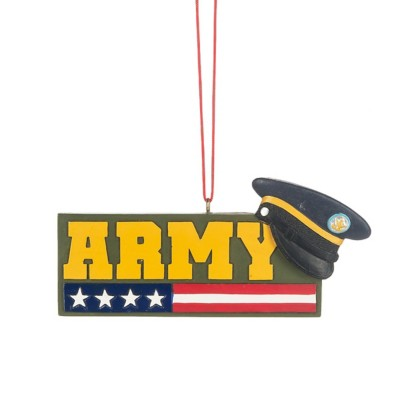 """Midwest-CBK """"Army"""" Ornament"""