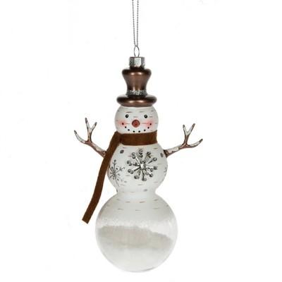 Midwest-CBK Snowman Snowflake Ornament