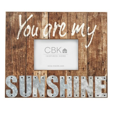 """Midwest-CBK """"You are My Sunshine"""" 4x6 Frame"""