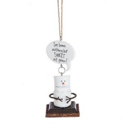 "Midwest-CBK Toasted S'mores ""I've Been Nothing But SWEET all Year!"" Ornament"