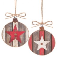 Midwest-CBK Assorted Star Ornament