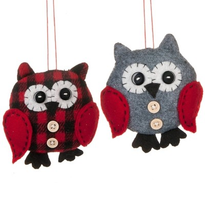 Midwest-CBK Assorted Owl Ornament