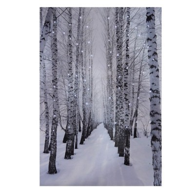 Midwest-CBK Lighted LED Tree Wall Decor Canvas