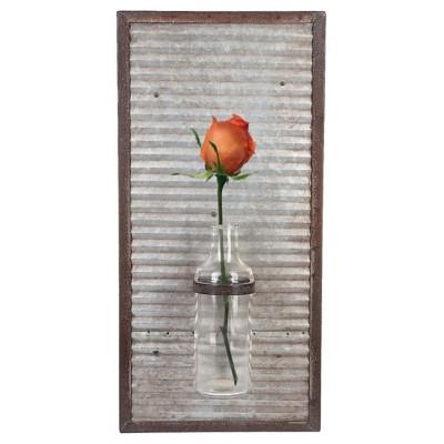 Midwest-CBK Bud Vase Wall Decor