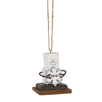 Midwest-CBK S'mores 2018 Dated Ornament