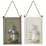 Midwest-CBK Framed Hanging Bud Vase (2 asstd)