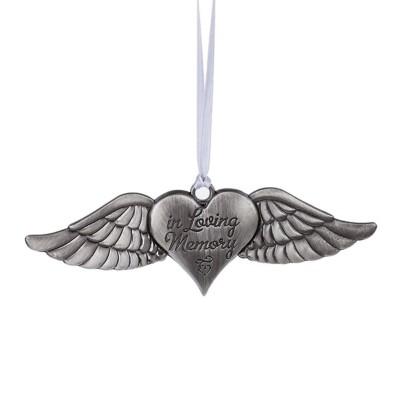 "Midwest-CBK ""In Loving Memory"" Angel Wings Ornament"