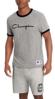 Men's Champion Heritage Ringer Short Sleeve Shirt