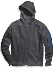Women's Champion Powerblend full zip hood with sleeve print
