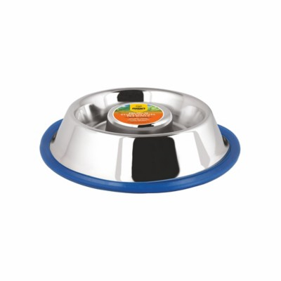Advance Pet Products Slow Feed Stainless Steel Bowl