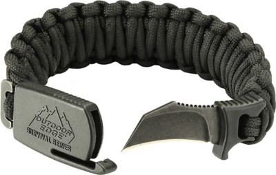 Outdoor Edge Para Claw Knife Bracelet Black Medium