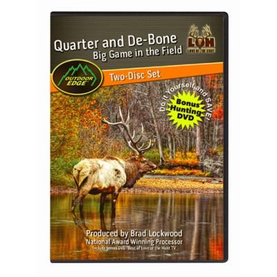 Koola Buck Quarter and De-bone Game in the Field DVD
