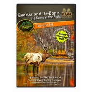 Koola Buck Quarter and De-bone Game in the Field DVD