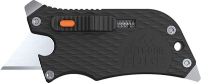 Outdoor Edge Slidewinder Utility Knife Black