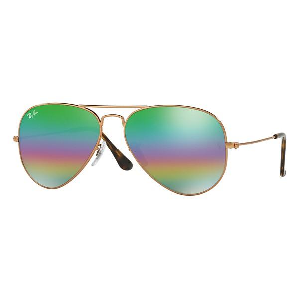 Bronze Copper/Green Rainbow Flash