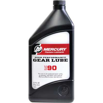 Mercury High Performance Gear Lube