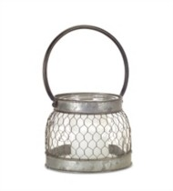 Melrose International Wire Candle Holder