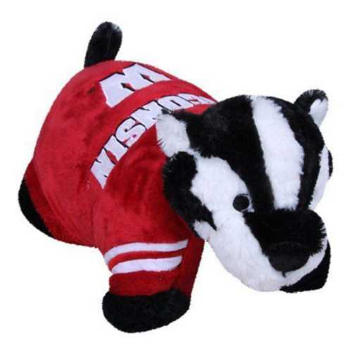 Fabrique Innovations Wisconsin Badgers Pillow Pet