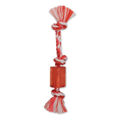 MAMMOTH Squeaky Rope with TPR Squeaker Dog Toy