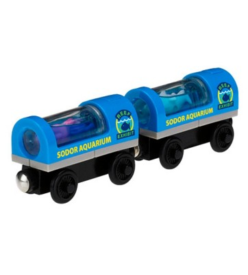 Thomas and Friends Wooden Railway Aquarium Cars