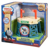 Fisher-Price Thomas & Friends Wooden Railway Elevated Crossing Gate