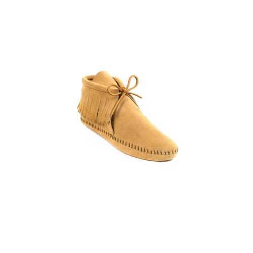 Women's Minnetonka Classic Fringe Softsole Ankle Boots