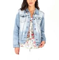 Women's KUT from the Kloth Emma Boyfriend Denim Jacket