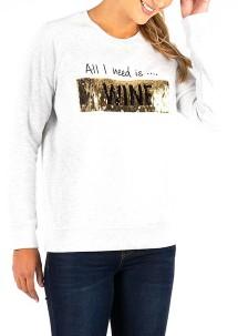Women's KUT from the Koth Asteria Coffee Wine Sweatshirt