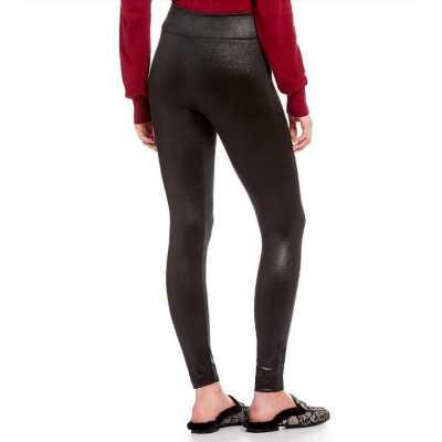 Women's Fornia Shiny Black Legging