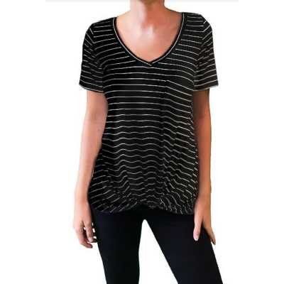 Black & Ivory Stripe