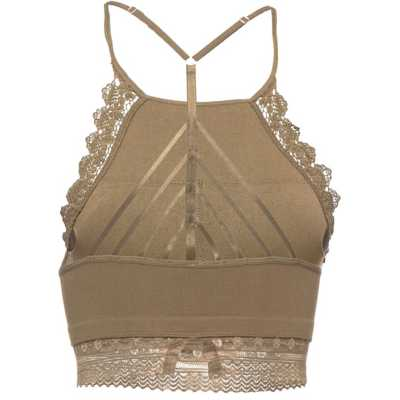 Women's Fornia High Neck Lace Bralette