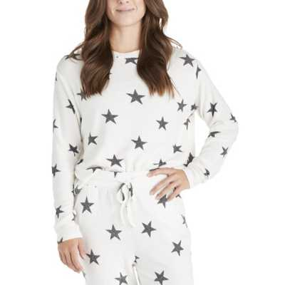 Grey Heather Stars