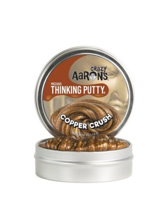 Crazy Aarons Thinking Putty Copper Crush