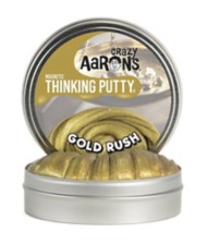 Crazy Aarons Thinking Putty Gold Rush