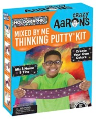 Crazy Aarons Thinking Putty Mixed by Me Sparkle Kit