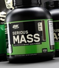 Optimum Nutrition Serious Mass Weight Gain Protein 6 lbs