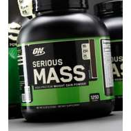 Optimum Nutrition Serious Mass Weight Gain Protein 6 lbs