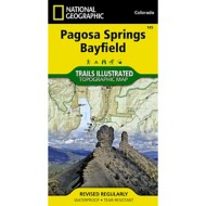 National Geographic Pagosa Springs/Bayfield Trail Map