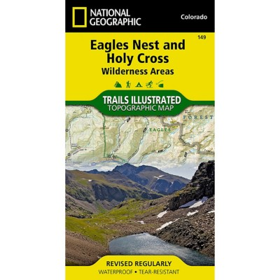 National Geographic Eagles Nest/Holy Cross Trail Map