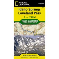 National Geographic Idaho Springs/ Loveland Pass Trail Map