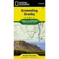 National Geographic Kremmling /Granby Trail Map