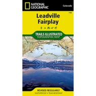 National Geographic Leadville/Fairplay Trail Map